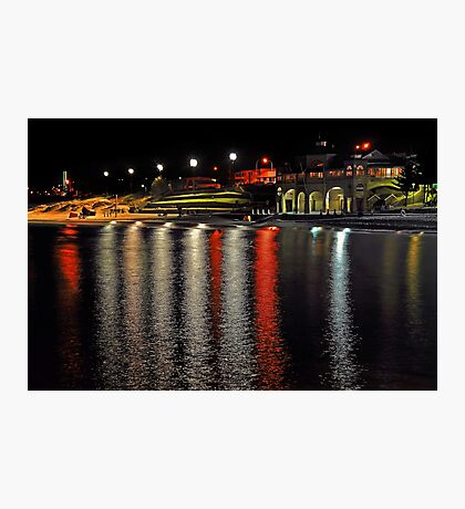 Cottesloe Beach At Night  Photographic Print