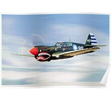 P-40  FLYING  TIGER Poster