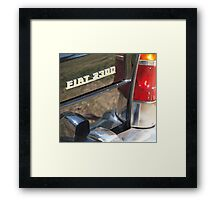 Fiat 2300 Framed Print