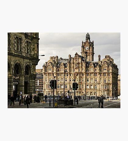 The Balmoral Hotel on North Bridge, Edinburgh Photographic Print