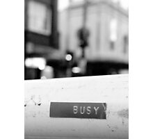 Busy Photographic Print