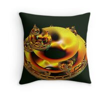 Electrostatic Commotion Throw Pillow