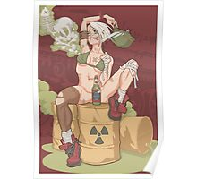 Tank Girl smells like toxic waste Poster