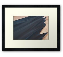 Painted Dune Framed Print