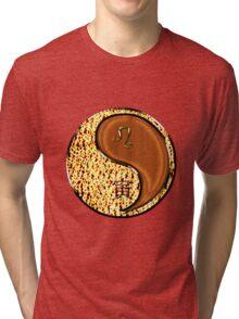 Leo & Tiger Yang Wood Tri-blend T-Shirt
