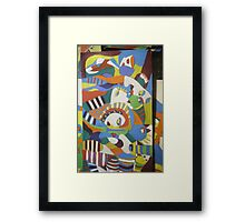 Euro indigenous Africana, Fusion in the current No x Framed Print