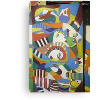Euro indigenous Africana, Fusion in the current No x Canvas Print