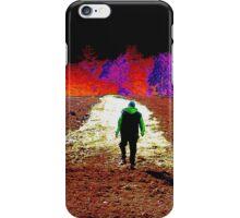 Walking Rocky's Field iPhone Case/Skin