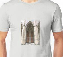 DOOR WITH BRASS HANDLES Unisex T-Shirt