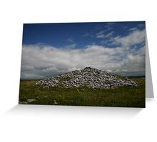Poulawack Cairn Greeting Card