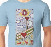 (be of good cheer) For We Return To Love Unisex T-Shirt