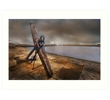 Whitby Harbour - Yorkshire Art Print