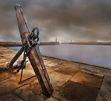 Whitby Harbour - Yorkshire by eddiej