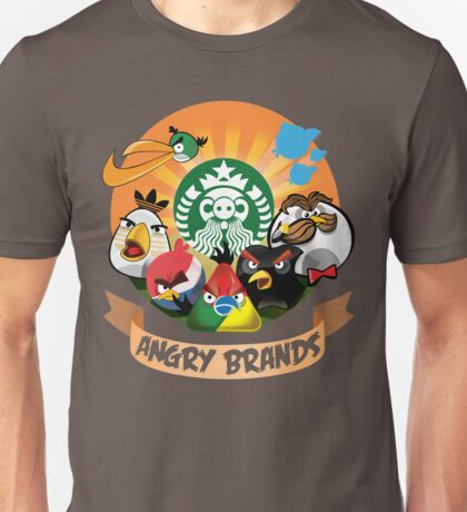 Angry Birds Angry Brands Unisex T-Shirt