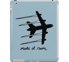 making it rain iPad Case/Skin