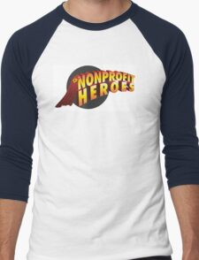 nonprofit heroes Men's Baseball ¾ T-Shirt