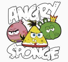 Angry Birds Spongebob Kids Tee