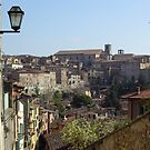 The cathedral of San Lorenzo & historic centre of Perugia, seen from the north by Philip Mitchell