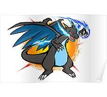 Mega Charizard X | Fire Punch Poster