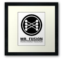 Mr Fusion Framed Print