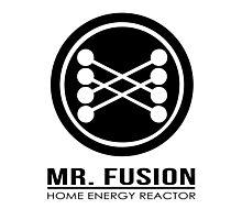 Mr Fusion Photographic Print