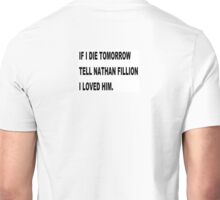 NATHAN FILLION Unisex T-Shirt