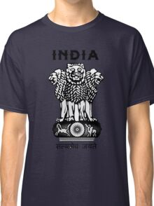 India Coat of Arms Classic T-Shirt