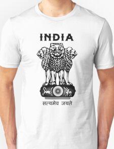 India Coat of Arms T-Shirt