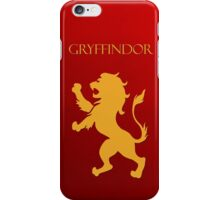 You might belong in Gryffindor iPhone Case/Skin