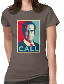JIMMY MCGILL CALL Womens Fitted T-Shirt