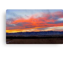 Colorado Sunset Canvas Print