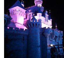 Sleeping Beauty Castle by memorytree