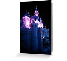Sleeping Beauty Castle Greeting Card