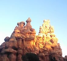 Thunder Mountain Railroad by memorytree