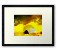 And The Sun Came Up Framed Print