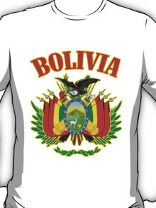 Bolivia Coat of Arms T-Shirt