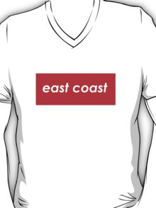 East coast - Red T-Shirt