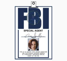 Dana Scully ID Badge  Kids Clothes