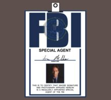 Fox Mulder ID Badge  by Michael Bourgeois