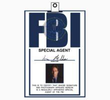 Fox Mulder ID Badge  Kids Clothes