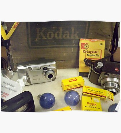 My OLD KODAK STUFF! Poster