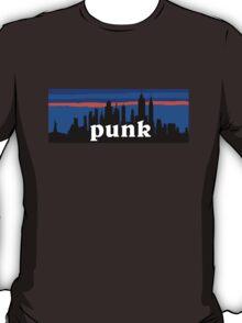 Punk, NYC skyline silhouette T-Shirt