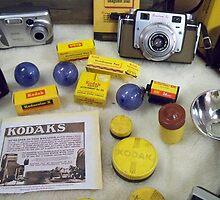 Old Kodak CAMERA Collection   by Diane Trummer Sullivan