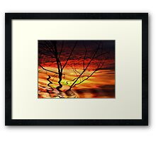 """Morning Abstract"" Framed Print"