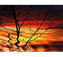 """""""Morning Abstract"""" Photographic Print"""