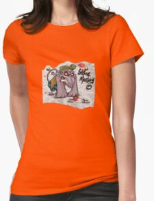 Stone Monkey - scrapper Womens Fitted T-Shirt