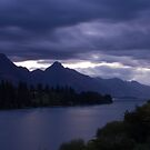 Evening Queenstown View by JessicaHayley