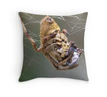 mmmm lunch Throw Pillow