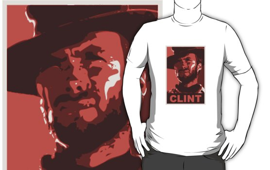 Clint for President: Red Edition by eritor