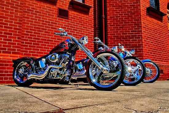 """Harleys at Heaven's Door"" by Phil Thomson IPA"